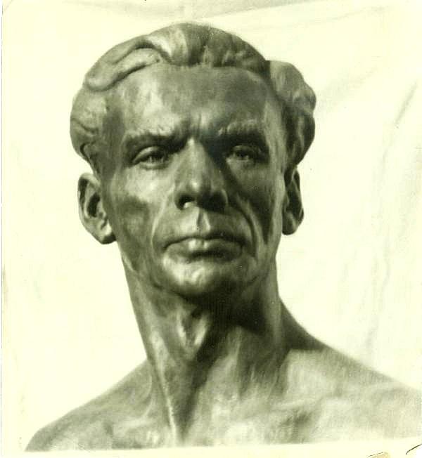 скульптурный портрет Гербиха