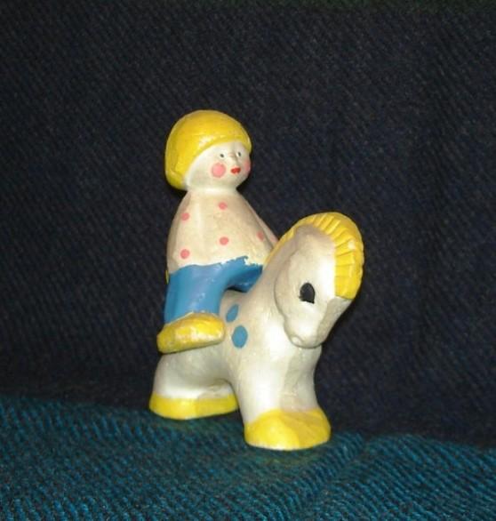 """игрушка """"Ивашка"""" на коньке"""