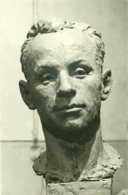 скульптурный портрет Дмитрия Прасолова