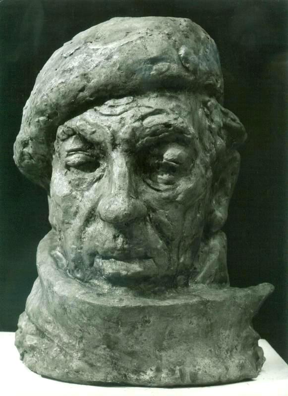 скульптурный портрет Юрия Забинкова