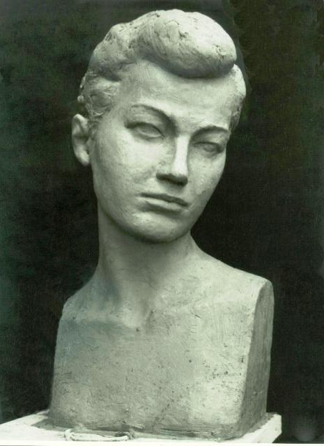 Бюст женщины (Зоя)